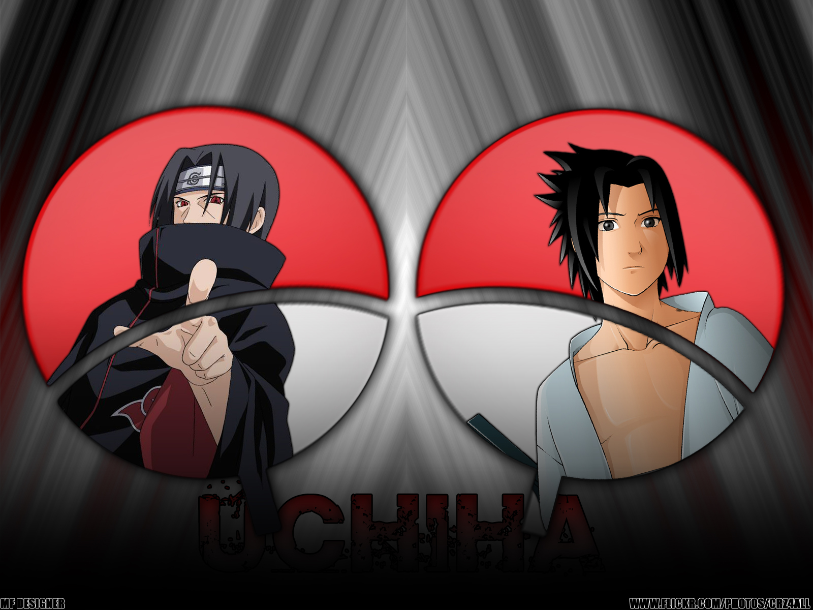 Itachi & Sasuke Wallpaper