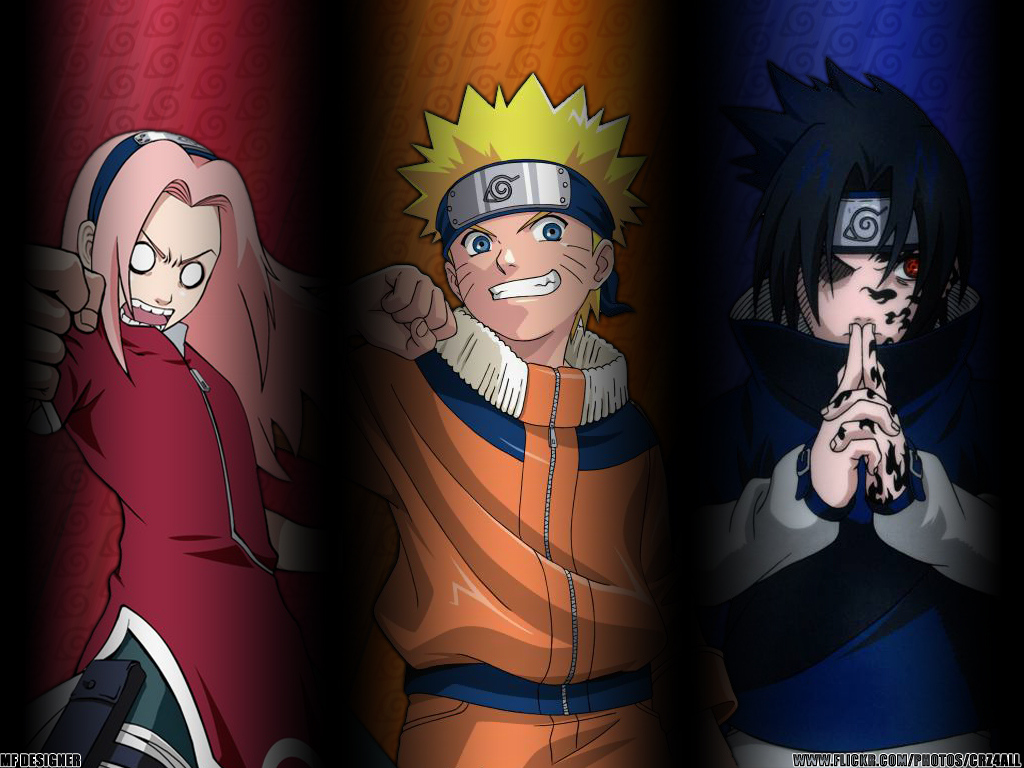 Naruto Sasuke and Sakura Wallpapers